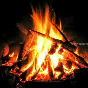 Bonfire at Homestay