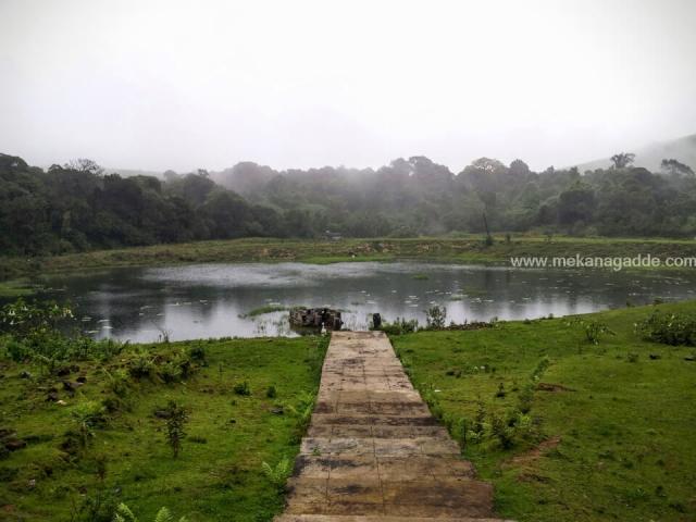 Kala Bhairaveshwara Temple Pond Scenery