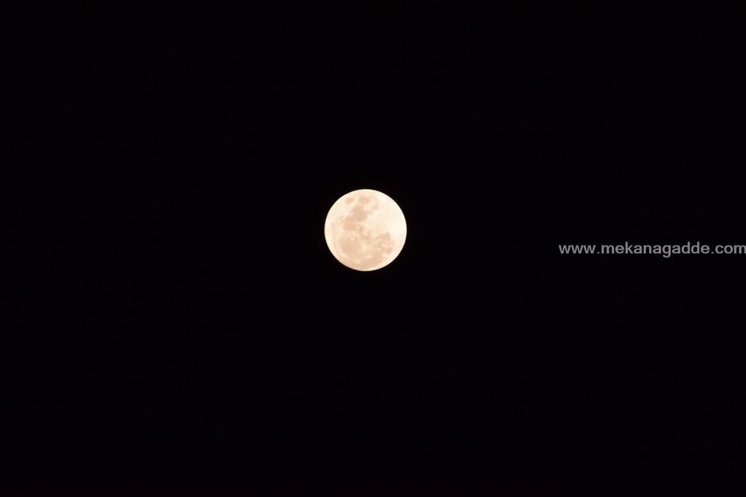 Moon - Sky gazing