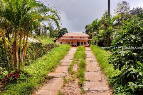 Mekanagadde Homestay Entrance