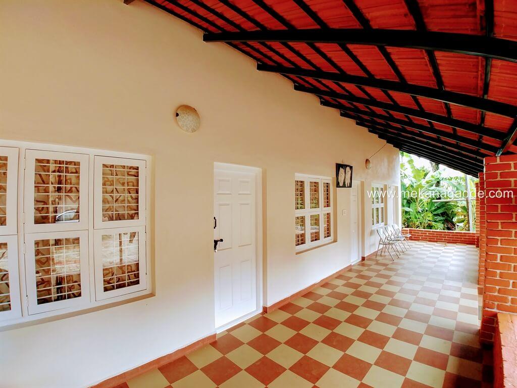 Mekanagadde Homestay Guest House Verandah